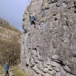 Climbers in Cheddar